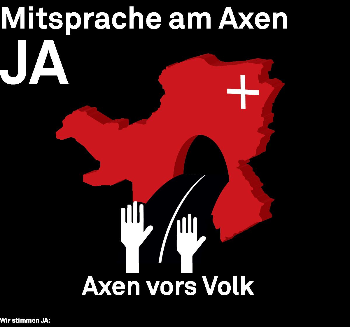 Mitsprache am Axen JA